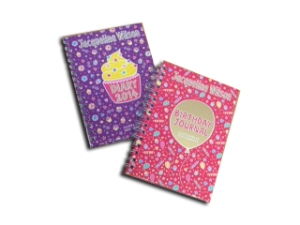 Jacqueline Wilson Birthday  Journal and 2014 Diary set