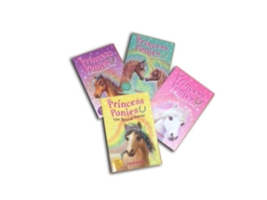 Princess Ponies Book Set