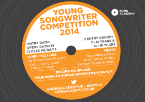 SONG-WRITER-COMPETITION