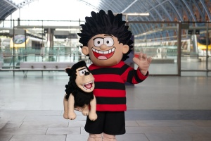 Beano at St Pancras International 002
