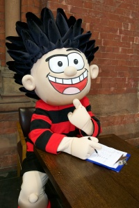 Dennis The Menace Helps St Pancras International Hire a Children's Entertainment Director in time for Christmas