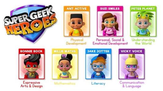 Super Geek Heroes2